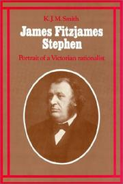 Cover of: James Fitzjames Stephen