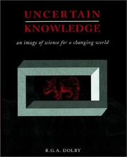 Cover of: Uncertain Knowledge