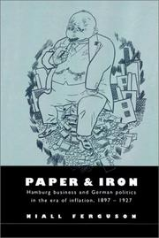 Cover of: Paper and Iron