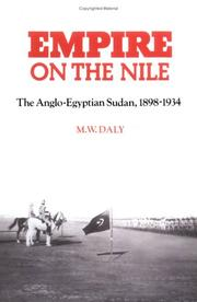 Empire on the Nile by M. W. Daly