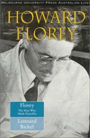 Cover of: Howard Florey | Lennard Bickel