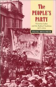 The people's party by Frank Bongiorno