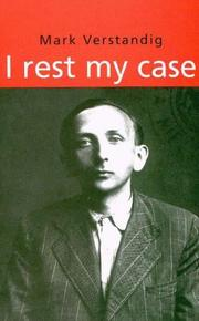 Cover of: I rest my case