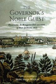 Cover of: The governor's noble guest