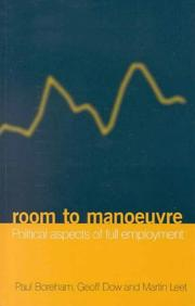 Cover of: Room to manoeuvre