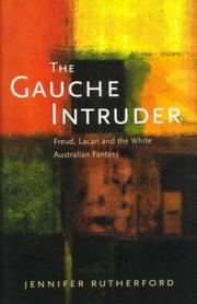 Cover of: gauche intruder | Jennifer Rutherford