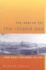 Cover of: The Search for the Inland Sea | Richard Johnson