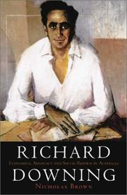 Cover of: Richard Downing | Brown, Nicholas