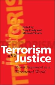 Cover of: Terrorism and Justice |