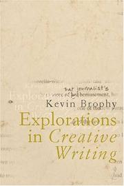 Cover of: Explorations in Creative Writing