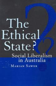Cover of: ethical state? | Marian Sawer