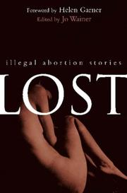 Cover of: Lost | Jo Wainer