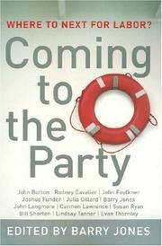 Cover of: Coming to the Party | Barry Jones