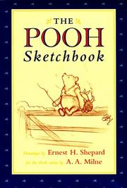 The Pooh sketchbook by Ernest H. Shepard