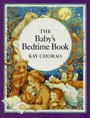 Cover of: The baby's bedtime book