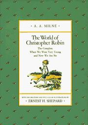 Cover of: The world of Christopher Robin