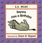 Cover of: Eeyore has a birthday