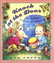 Cover of: Knock at the door and other baby action rhymes