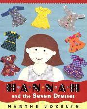 Cover of: Hannah and the seven dresses