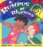 Cover of: A rumpus of rhymes: a book of noisy poems