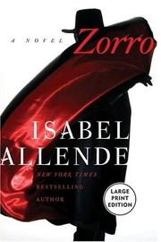 Cover of: Zorro LP | Isabel Allende