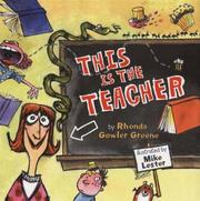 Cover of: This is the teacher | Rhonda Gowler Greene