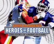 Cover of: John Madden's heroes of football