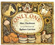 Cover of: Only one | Marc Harshman