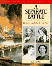 Cover of: A separate battle