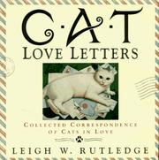 Cover of: Cat love letters