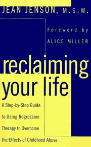 Reclaiming Your Life by Jean C. Jenson
