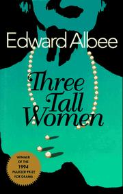 Cover of: Three tall women