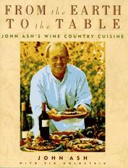 Cover of: From the earth to the table