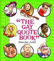 Cover of: The gay quote book