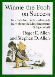 Cover of: Winnie-the-Pooh on success | Roger E. Allen