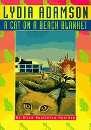 Cover of: A cat on a beach blanket