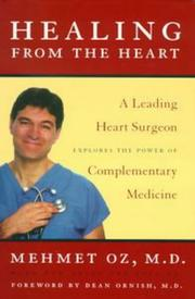 Cover of: Healing from the Heart | Mehmet Oz