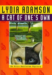 Cover of: A Cat Of One's Own