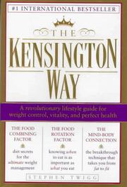 Cover of: The Kensington way by Stephen Twigg