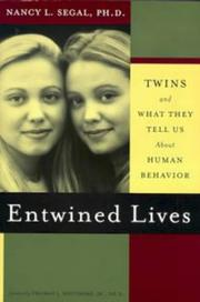 Cover of: Entwined lives