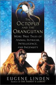 Cover of: The Octopus and the Orangutan