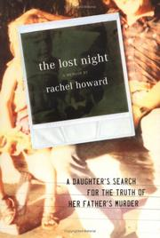 Cover of: The lost night | Howard, Rachel.