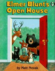 Cover of: Elmer Blunts Open House