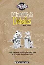 Cover of: Extraordinary Debates (F. W. Prep)
