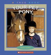 Cover of: Your Pet Pony