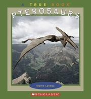 Cover of: Pterosaurs