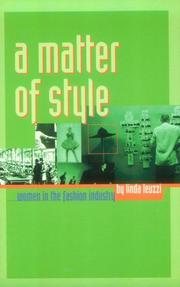 Cover of: A Matter of Style  | Linda Leuzzi