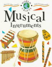 Cover of: Musical Instruments (World Crafts)