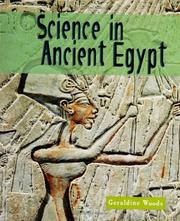 Cover of: Science in Ancient Egypt (Science of the Past)