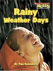 Cover of: Rainy Weather Days | Pam Rosenberg